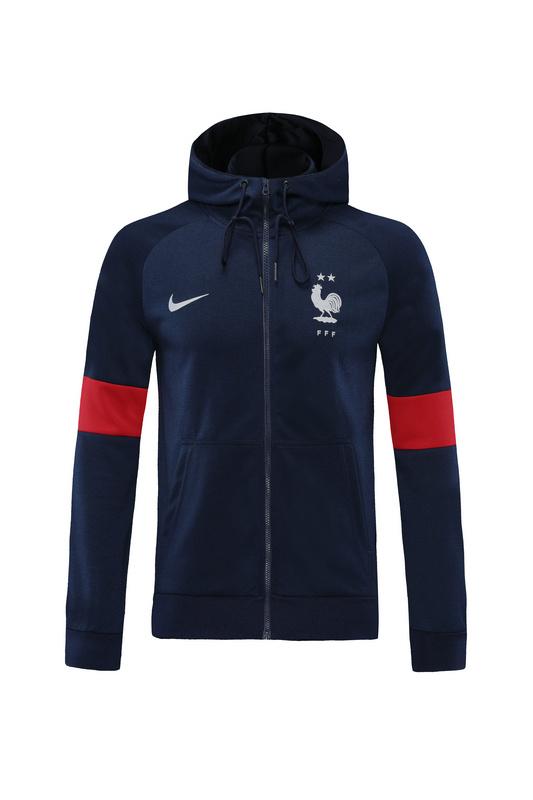Спортивный костюм сборной Франции с капюшоном 2020/2021